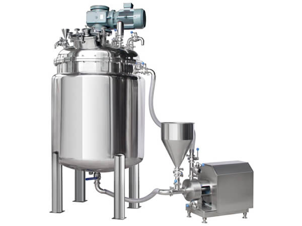 RB Vacuum Emulsifier Mixer without Hydraulics