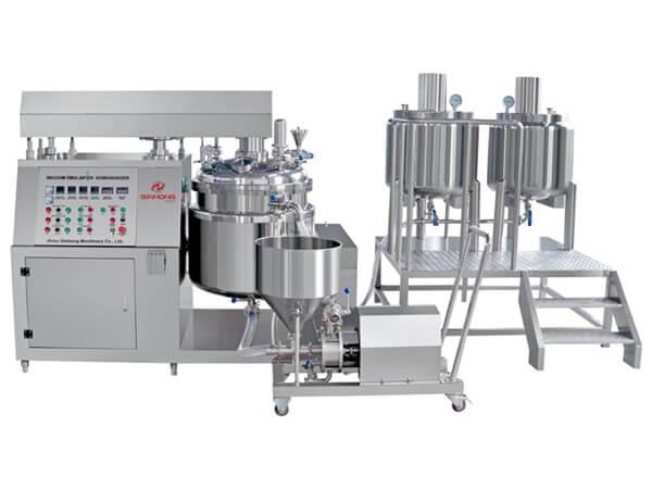 RB Vacuum Emulsifier Mixer