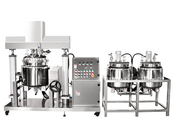 RS Simplified Vacuum Emulsifying Mixer