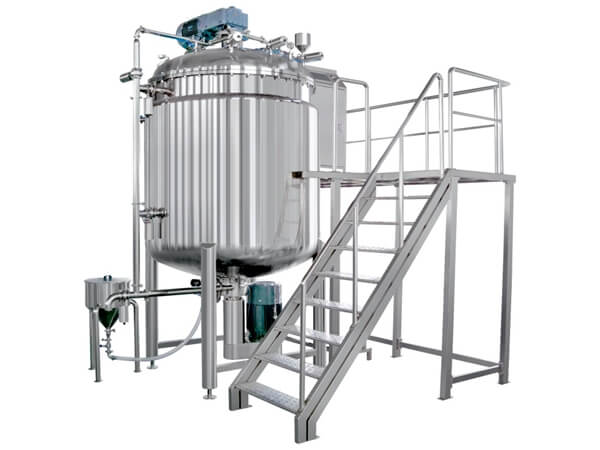 RX Vacuum Homogenizer Mixer without Hydraulics