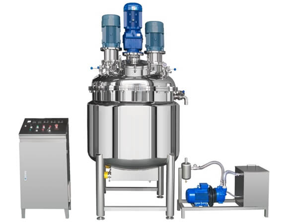 SZ Vacuum Triple Shaft Mixer without Hydraulics