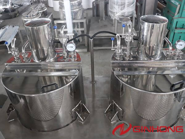 300L liquid powder tanks