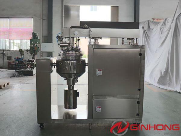 30L lab vacuum homogenizer mixer