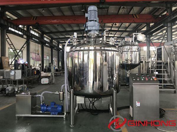 LZ-1000L Liquid Detergent Mixer Made for Armenian Customer