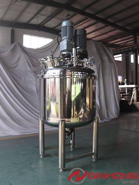 LZ-500L vacuum dual shaft mixer