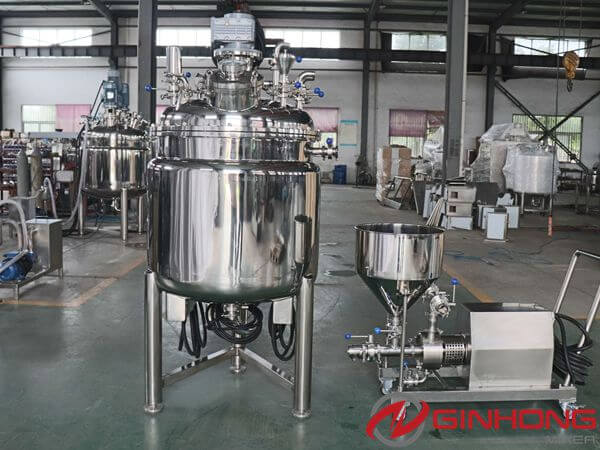 RB-300L Vacuum Emulsification Mixer Delivered to Coffee Processing Factory