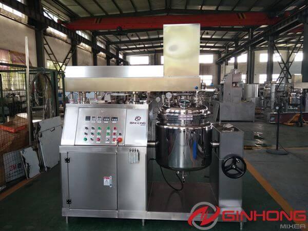 RS-100L Tilting Vacuum Dispersing Mixers Made for American Customer