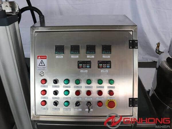 RS-100L vaccum emulsifying machine