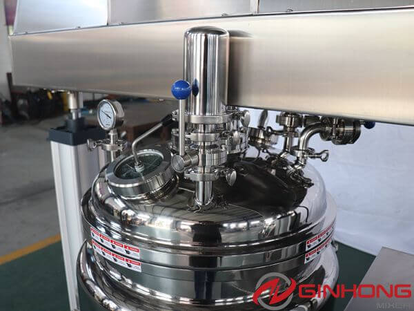 RS-100L vacuum emulsifying mixer