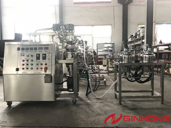 RX-5 Lab Emulsifying Mixer Delivered to an Indonesian Company