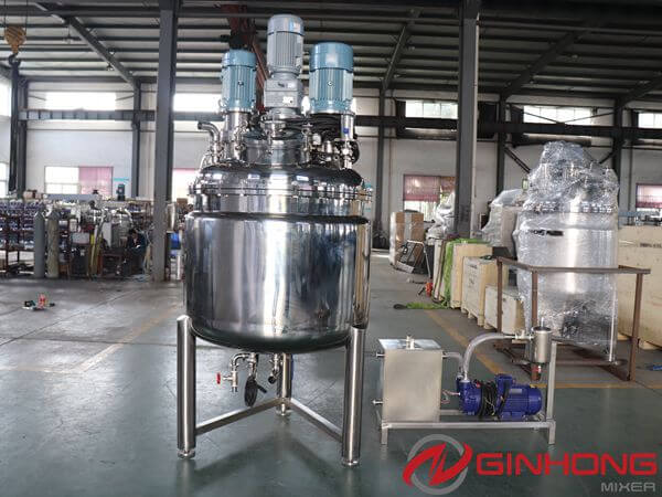 SZ-500L Multi-functional Three Shaft Mixer Delivered to Vietnam