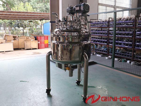 YX-100L vacuum mixing kettle