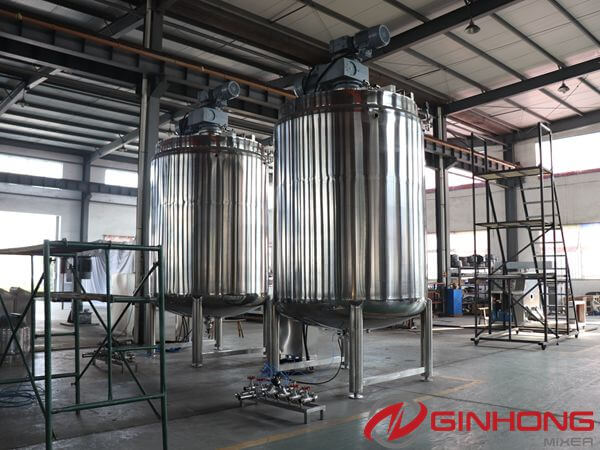 YX-7500L stainless steel mixing vessel