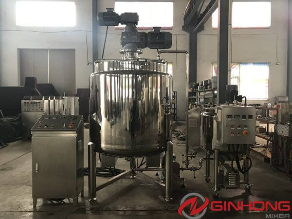1000L Bidirectional Mixer Machine Made for Israeli Cosmetics Company