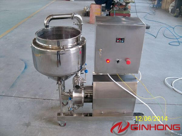10hp inline high shear mixer