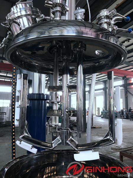 200L vacuum dual shaft mixer