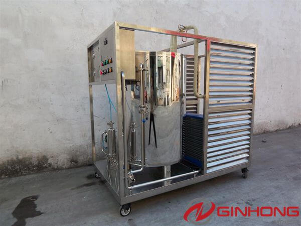 Ginhong Delivered Perfume Mixing Machine and Fittings to a Perfume Factory in UAE