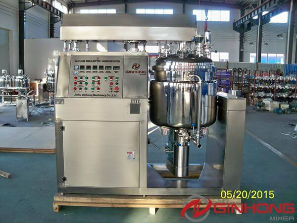 Ginhong Finished a RX-200L Homogenizer Mixer for an Egyptian Cosmetic Factory