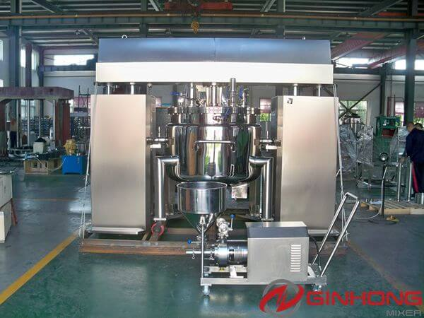 Ginhong Manufactured Two Pharmaceutical Mixers for an Indian Supplier