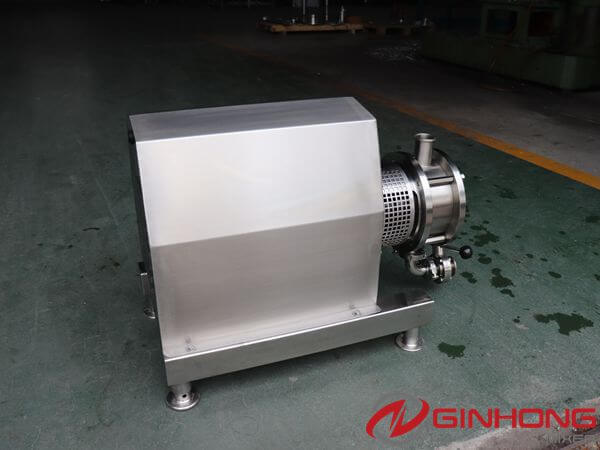 Ginhong Produced One ZX-7.5kw High Shear Pump for Making Environmental Protection Materials