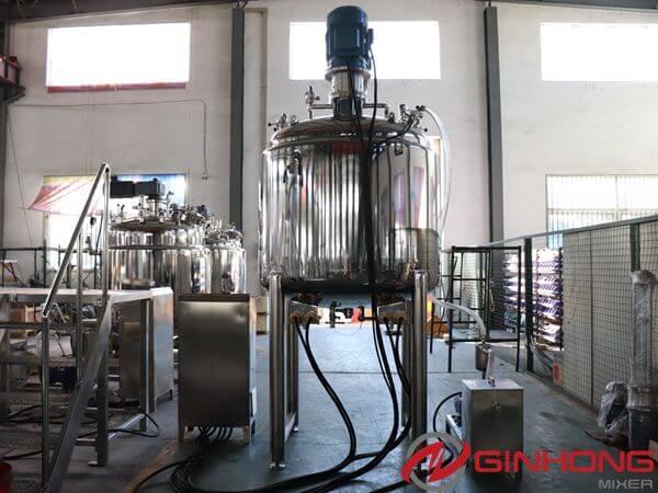 LZ-1000 vacuum two shaft mixer