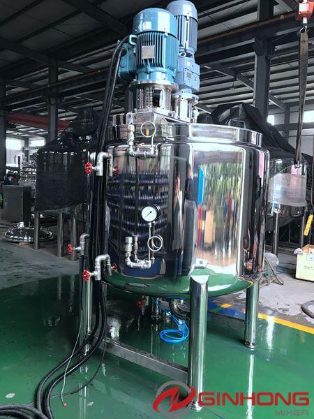 LZ-1000L dual shaft paddle mixer