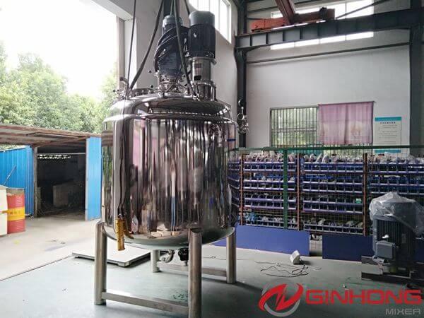 LZ-2000 dual shaft mixer