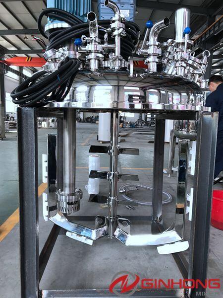 LZ-600 vacuum dual shaft mixer