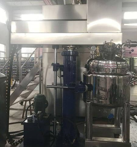 LZ-80 Vacuum Concentric Dual Shaft Mixer Made for Chemical Plant