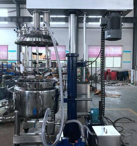 One LZ-200 Vacuum Twin Shaft Mixer Delivered to a New American Customer