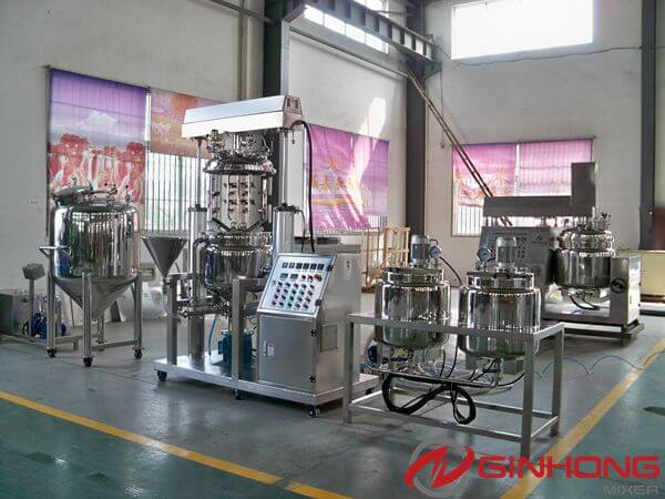 One Set of RX-100 Mayonnaise Making Machine Delivered to Lusaka, Zambia