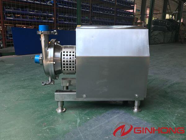 One ZX-1.5KW Inline High Shear Mixer Sent to Vietnam to Emulsify Diesel