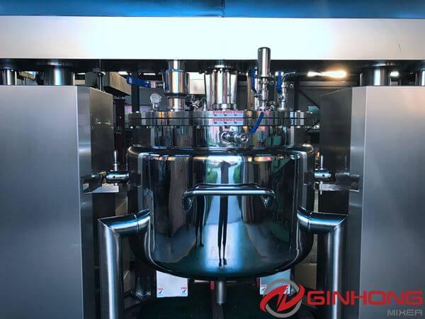 RB-1000 vacuum emulsifier mixer