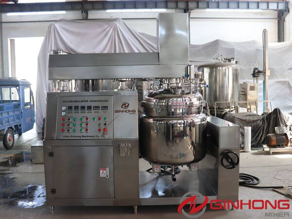 RS-200L Vacuum Emulsifying Machine Delivered to Hebei Province