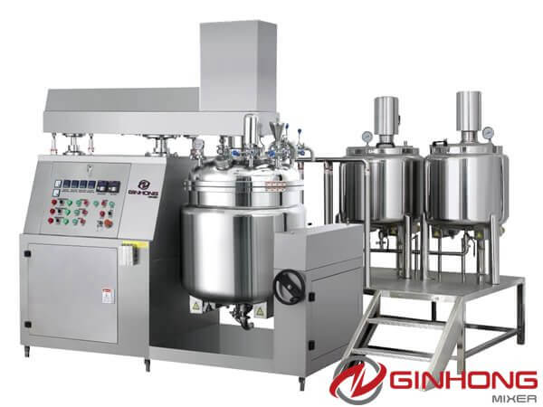 RS Vacuum Emulsifying Mixer
