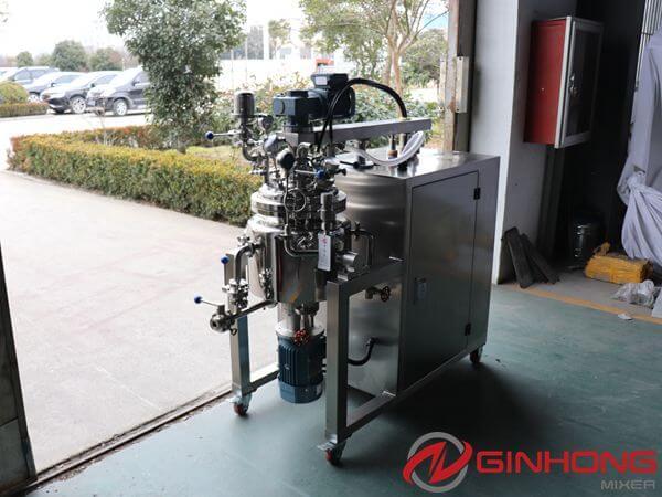 RX-10 lab vacuum homogenizer machine