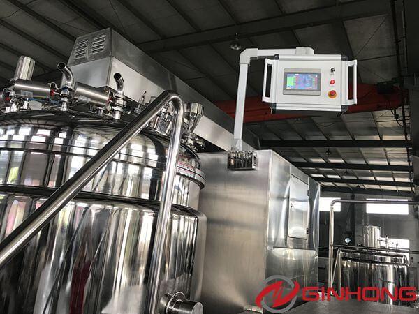 RX-1200L vacuum homogenizer machine