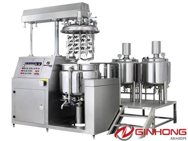 RX vacuum homogenizer machine