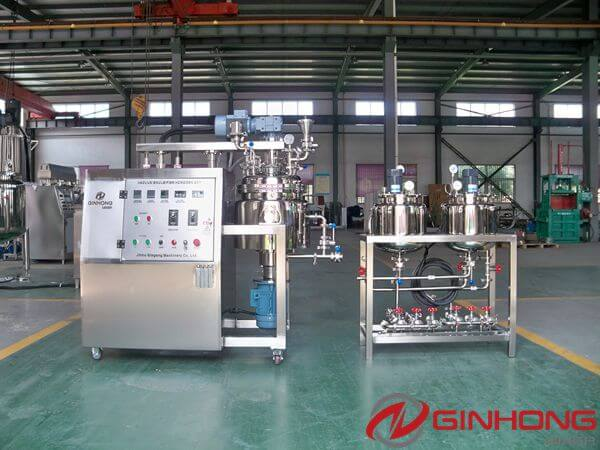 Taiwanese Customer Ordered a 20 Liters Lab Vacuum Mixer From Ginhong