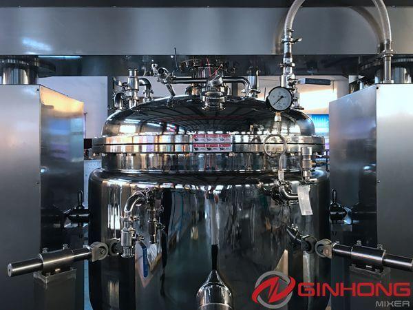 YX-1000 vacuum mixing vessel