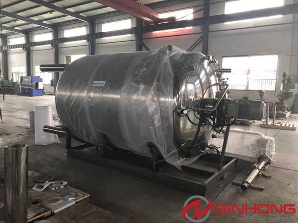 YX-7000L closed mixer tank