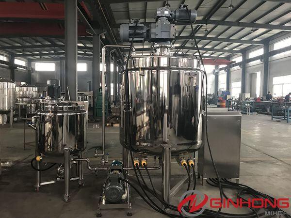 YX open mixing vessel