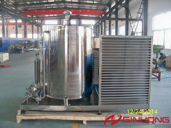 back view of 1000L perfume mixer