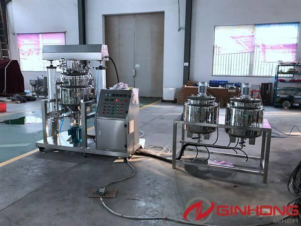 RX-100 simplified vacuum homogenizer mixer