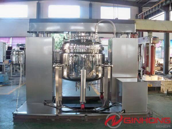 polymer vacuum mixing tank