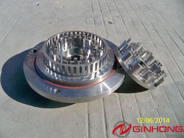 sharp rotor stator in 10hp high shear mixer