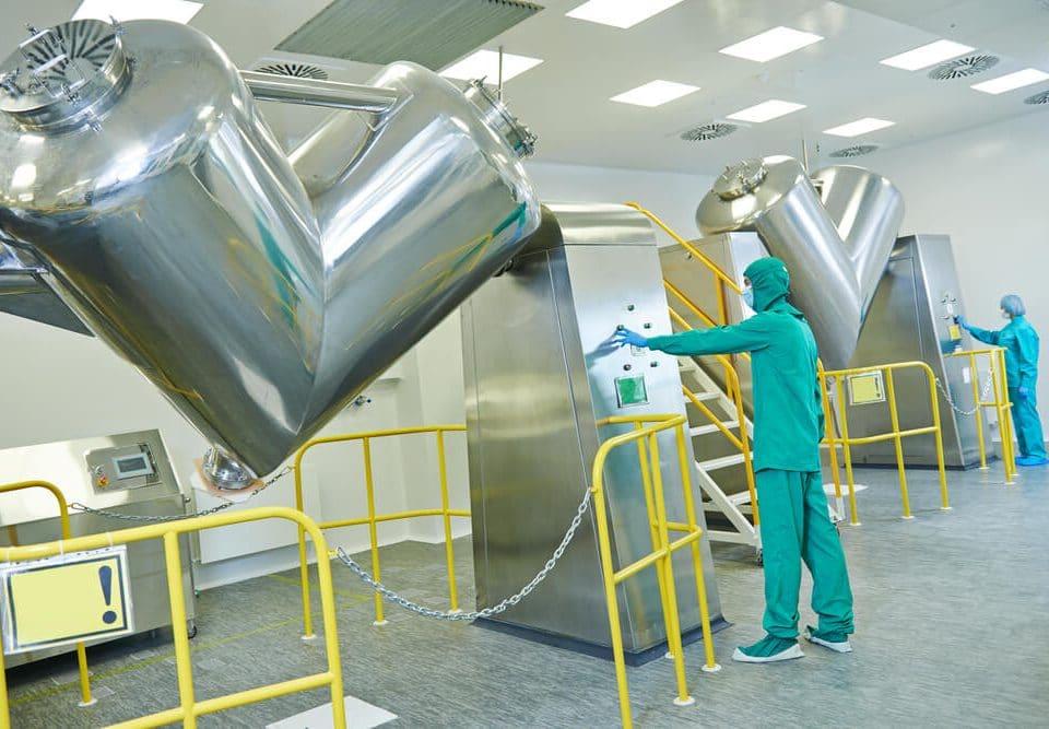 pharmaceutical factory woker
