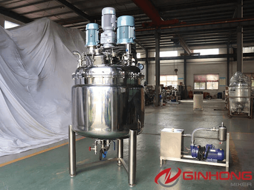 multishaft mixer stainless steel