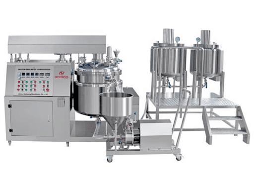 vacuum emulsifier mixer